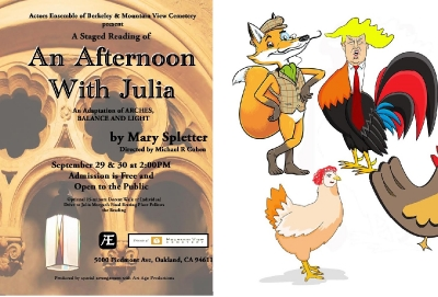 An Afternoon with Julia & Fox Among the Hens Graphic